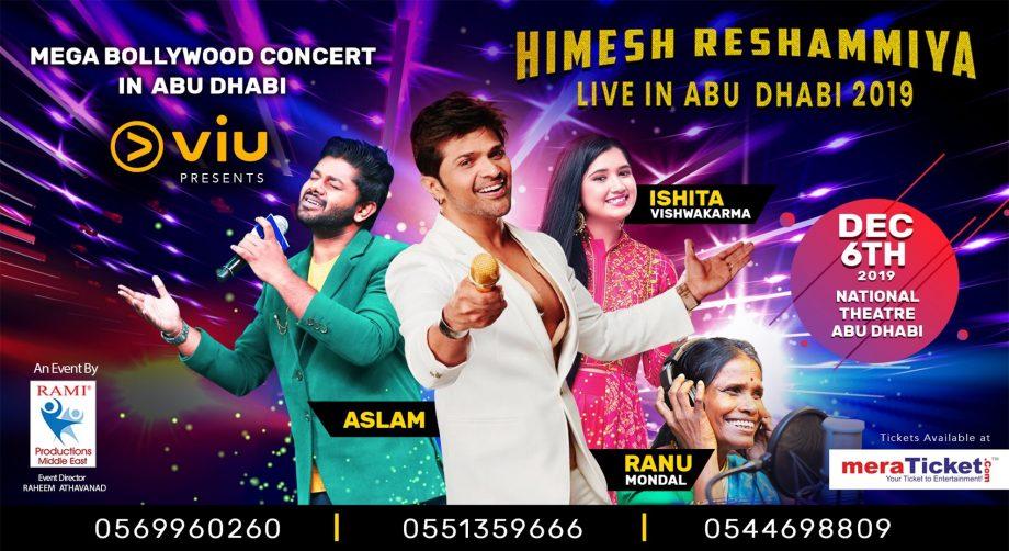 Himesh Reshammiya Live in Abu Dhabi - Coming Soon in UAE, comingsoon.ae