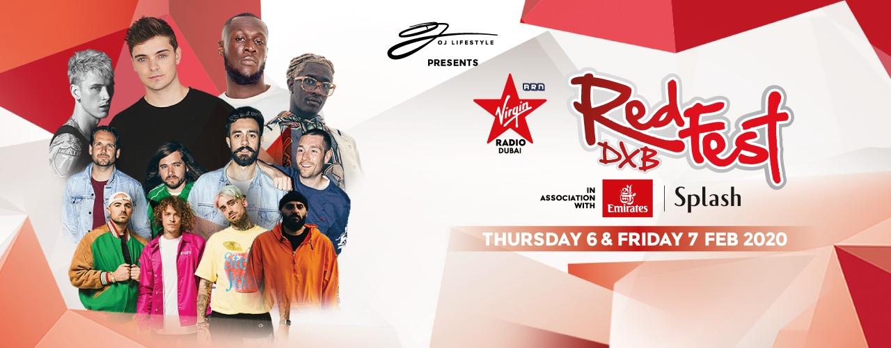 RedFest DXB 2020 - Coming Soon in UAE
