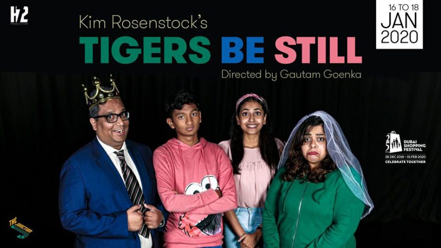 Tigers Be Still at The Junction - Coming Soon in UAE, comingsoon.ae
