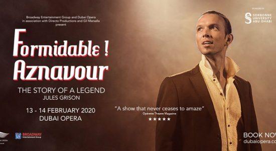 Formidable – Tribute to Charles Aznavour at Dubai Opera - comingsoon.ae