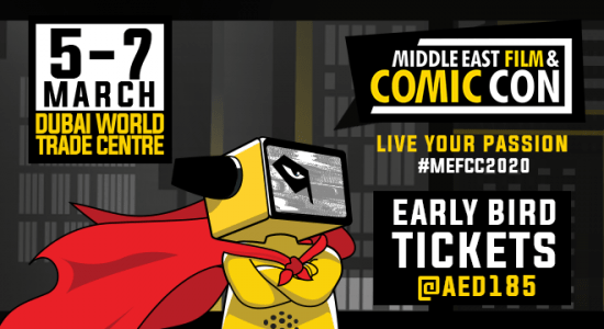 Middle East Film & Comic Con 2020 - comingsoon.ae