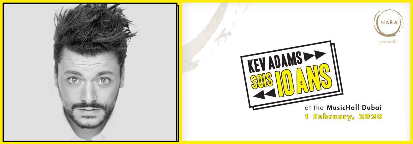 Kev Adams – SOIS 10 Ans - Coming Soon in UAE, comingsoon.ae