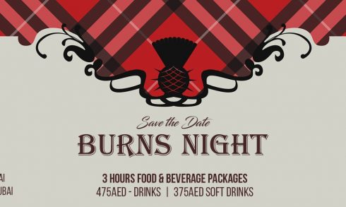 Scottish Association takes Burns Supper - Coming Soon in UAE, comingsoon.ae