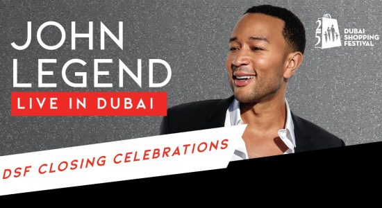 DSF Clothing Celebration: John Legend and Faia Younan - comingsoon.ae