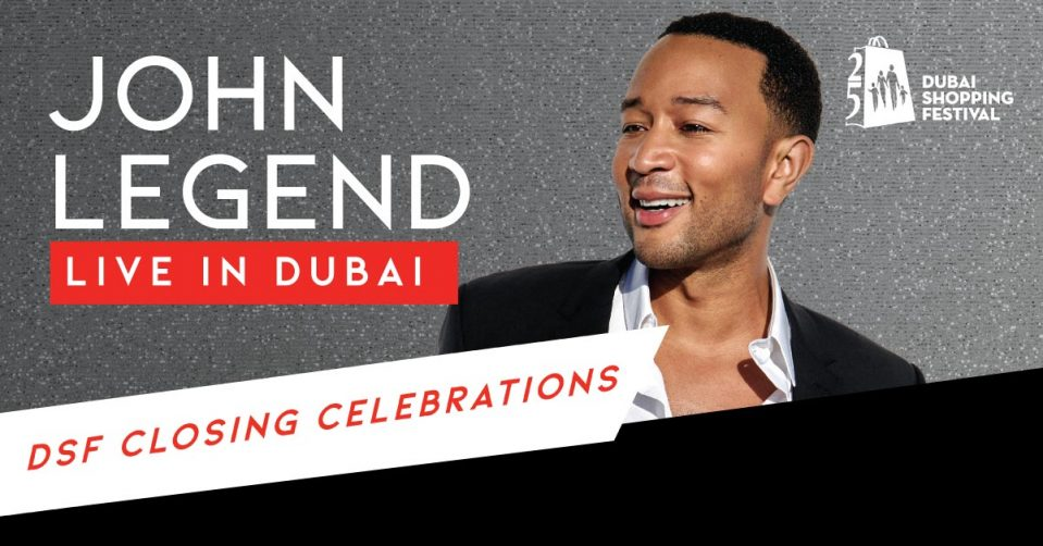 John Legend live at the Coca-Cola Arena - Coming Soon in UAE, comingsoon.ae