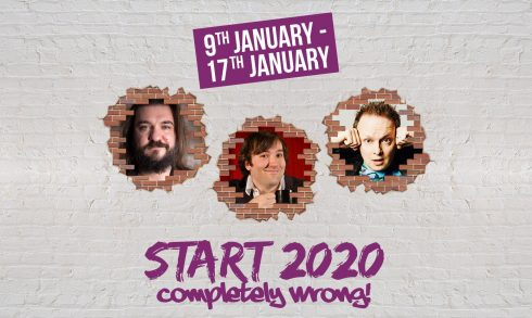 """The Laughter Factory: """"Start 2020 Completely Wrong!"""" - Coming Soon in UAE, comingsoon.ae"""