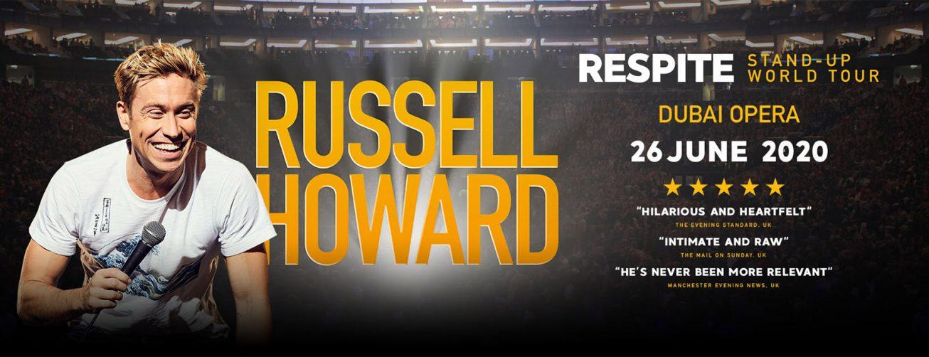Russell Howard at Dubai Opera - Coming Soon in UAE, comingsoon.ae