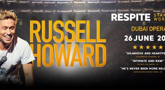 Russell Howard at Dubai Opera - comingsoon.ae