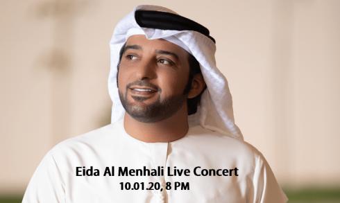 Eida Al Menhali Concert - Coming Soon in UAE, comingsoon.ae