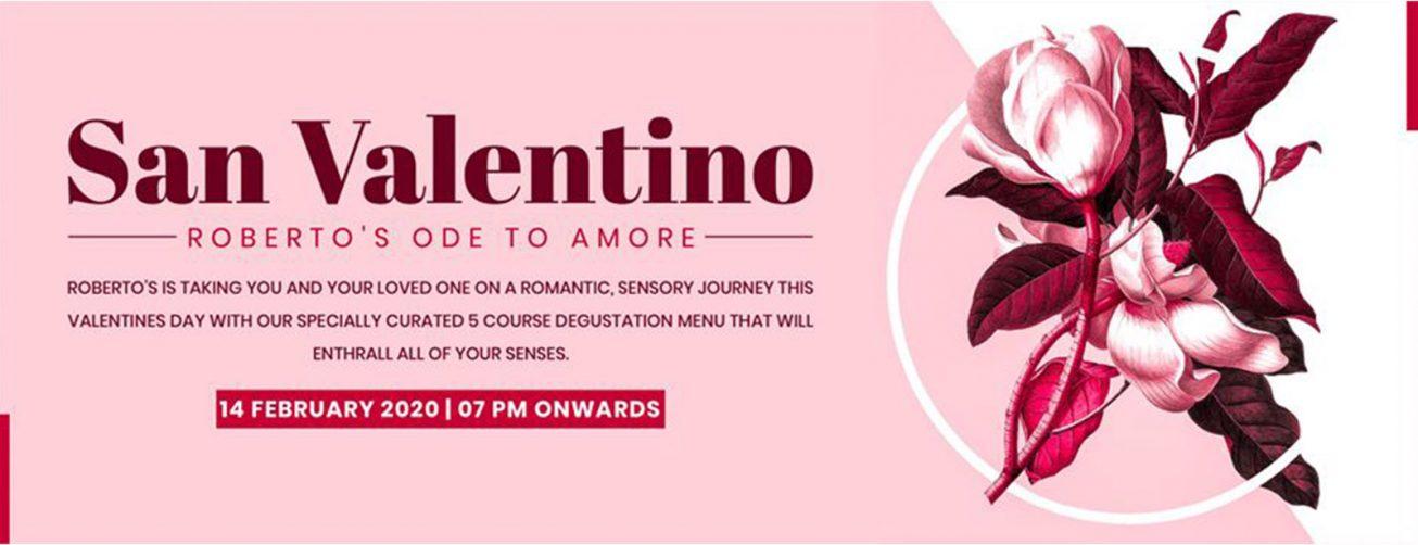 San Valentino at Roberto's Restaurant & Lounge - Coming Soon in UAE, comingsoon.ae