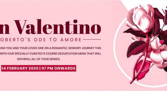 San Valentino at Roberto's Restaurant & Lounge - comingsoon.ae