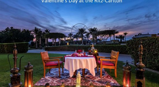 Valentine's Day at The Ritz Carlton - comingsoon.ae