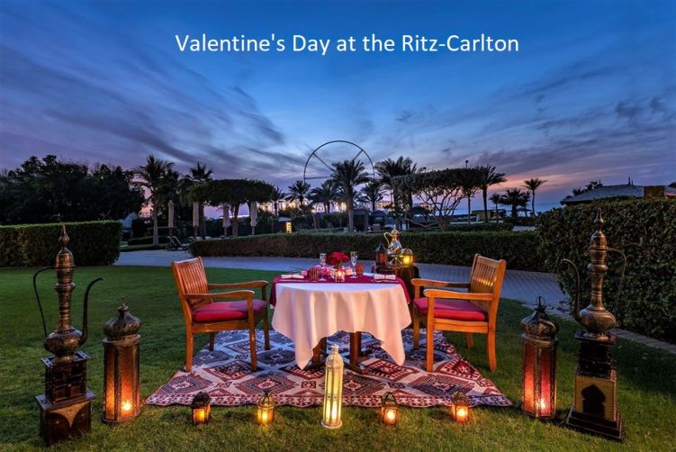 Valentine's Day at The Ritz Carlton - Coming Soon in UAE, comingsoon.ae