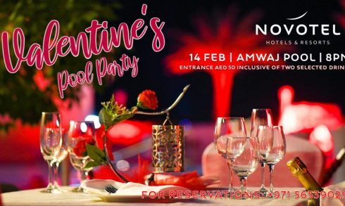 Valentine's Pool Party at Novotel Fujairah - Coming Soon in UAE, comingsoon.ae