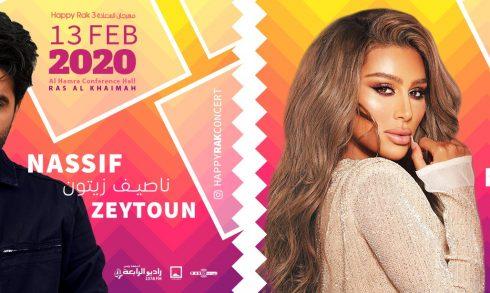 Happy RAK 3 with Nassif Zeytoun and Maya Diab - Coming Soon in UAE, comingsoon.ae