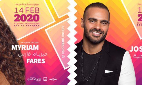 Happy Rak 3 with Myriam Fares and Joseph Attieh - Coming Soon in UAE, comingsoon.ae