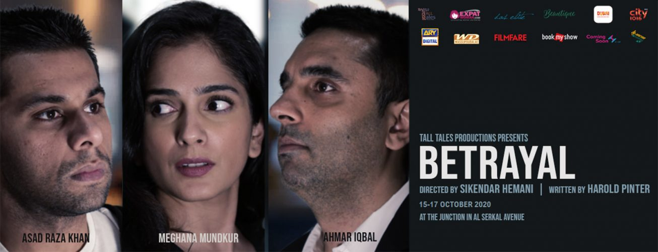 "Theatrical Extravaganza ""Betrayal"" - Coming Soon in UAE, comingsoon.ae"