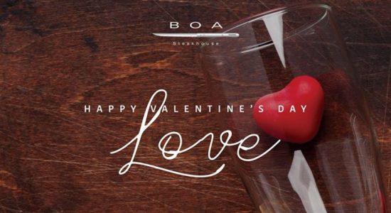 Valentine's Day at BOA - comingsoon.ae