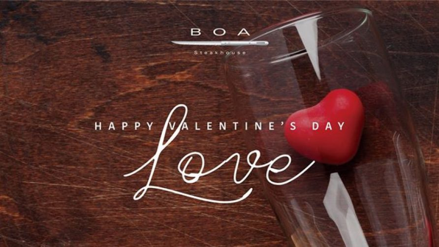 Valentine's Day at BOA - Coming Soon in UAE, comingsoon.ae