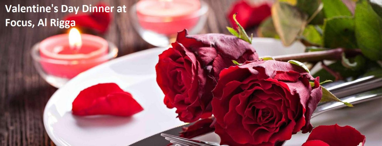 Valentine's Day Dinner at Focus, Al Rigga - Coming Soon in UAE, comingsoon.ae