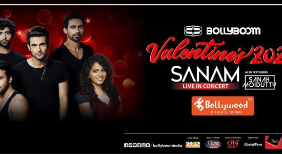 Bollyboom Valentines with Sanam & Sanah - comingsoon.ae