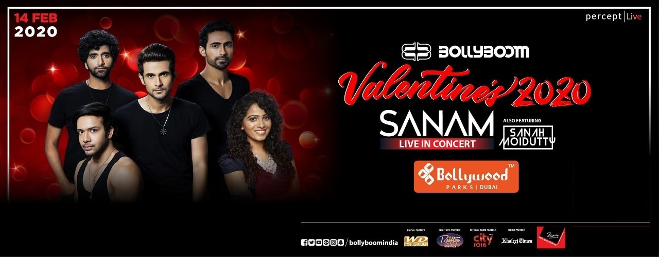 Bollyboom Valentines with Sanam & Sanah - Coming Soon in UAE, comingsoon.ae
