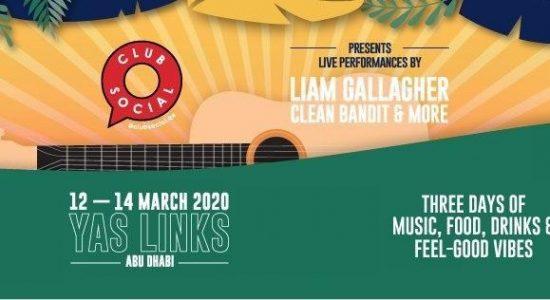 Club Social with Liam Gallagher, Kaiser Chiefs, Clean Bandit & more - comingsoon.ae