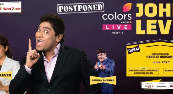 Colors Live presents Johnny Lever show - comingsoon.ae