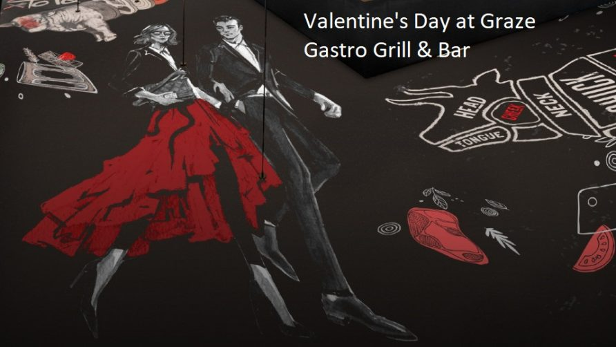 Valentine's Day at Graze Gastro Grill & Bar - Coming Soon in UAE, comingsoon.ae