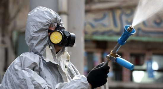 Fighting Coronavirus – the Streets of Dubai are being Disinfected - comingsoon.ae
