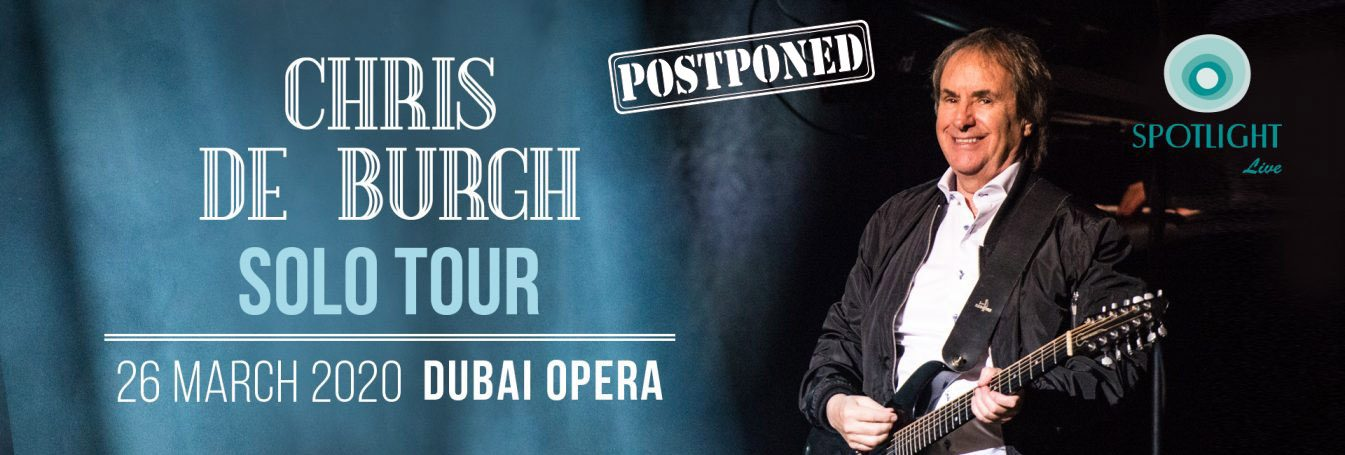 Chris de Burgh at Dubai Opera - Coming Soon in UAE, comingsoon.ae