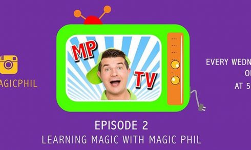Learning magic with Magic Phil. Episode 2 - Coming Soon in UAE, comingsoon.ae