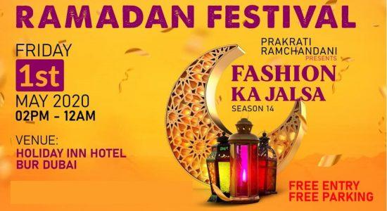 Fashion Ka Jalsa (Ramadan Festival) - comingsoon.ae
