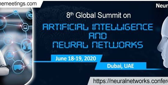 8th Global Summit on Artificial Intelligence and Neural Networks - comingsoon.ae