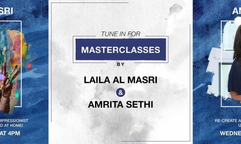Free online painting classes with Laila Al Masri and Amrita Sethi - Coming Soon in UAE, comingsoon.ae